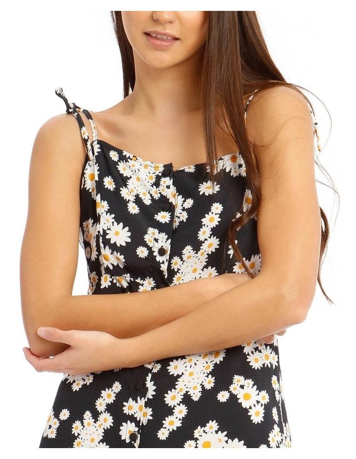 Daisy Tie-Strap Mini Dress image 4