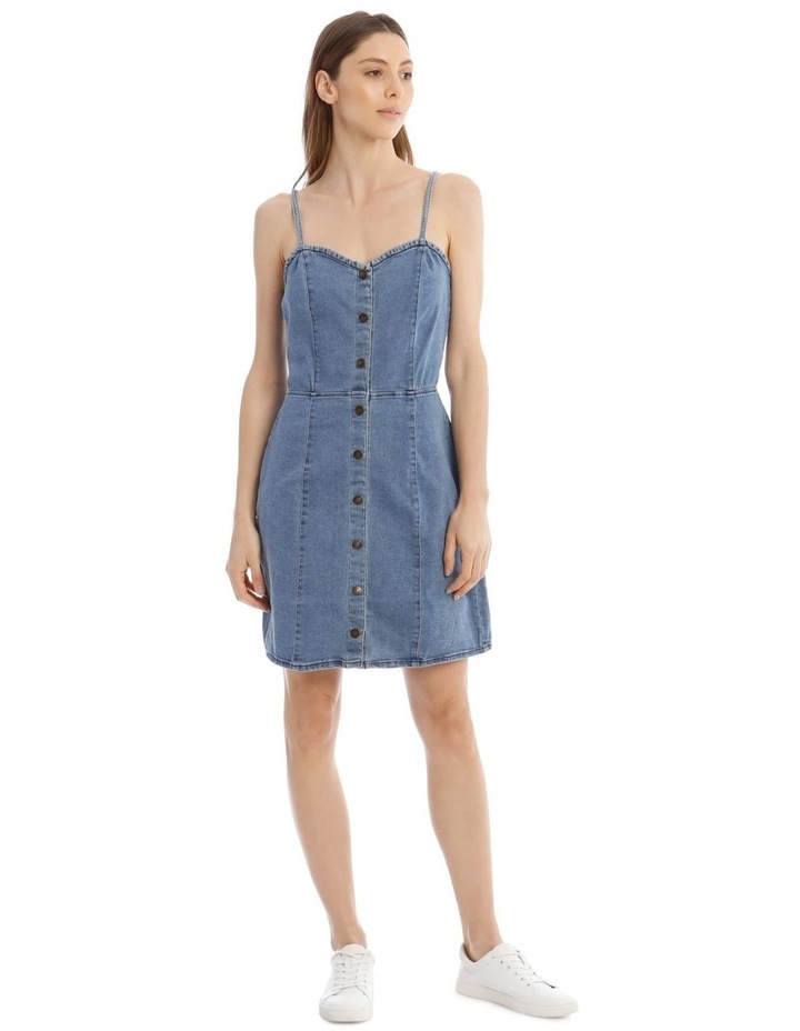 Flora Denim Dress image 1