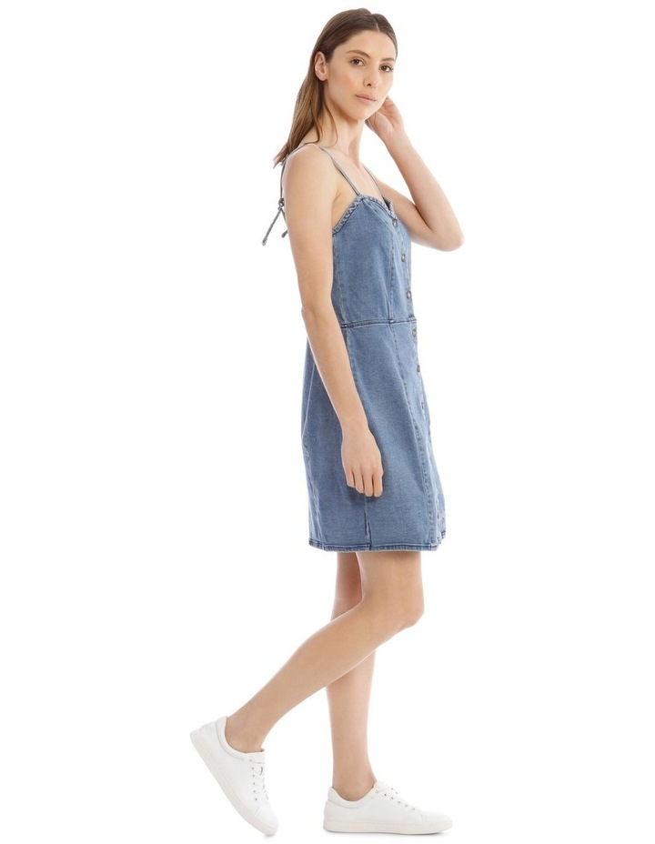 Flora Denim Dress image 2