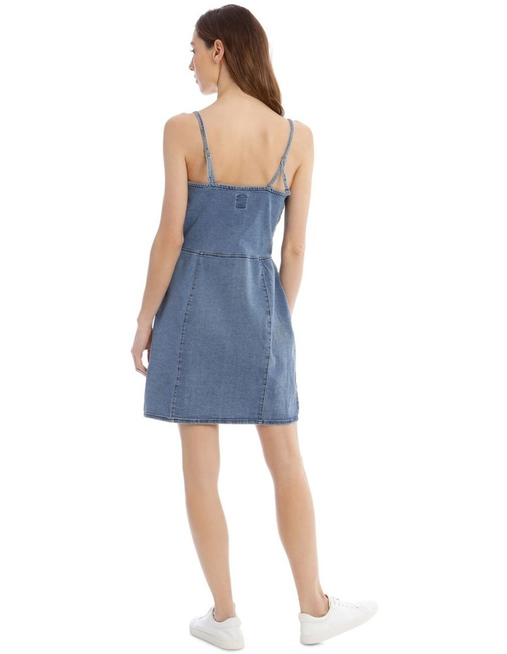 Flora Denim Dress image 3