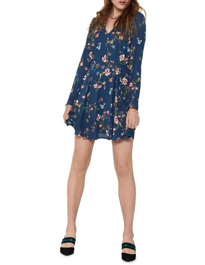 Claire Long Sleeve Short Dress image 1