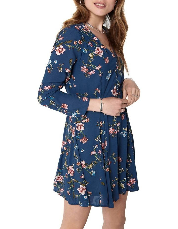 Claire Long Sleeve Short Dress image 3