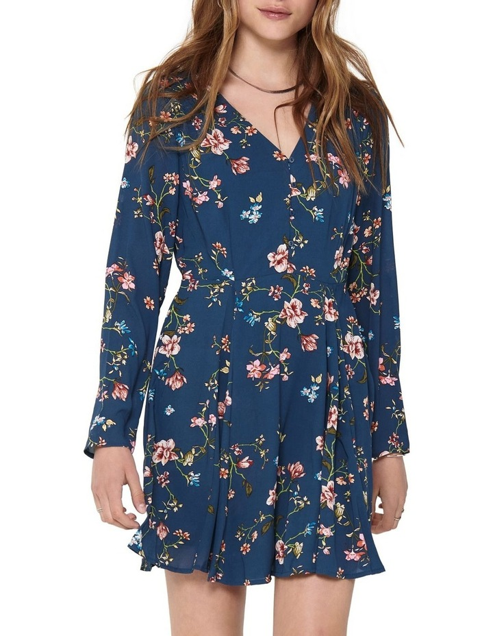 Claire Long Sleeve Short Dress image 4