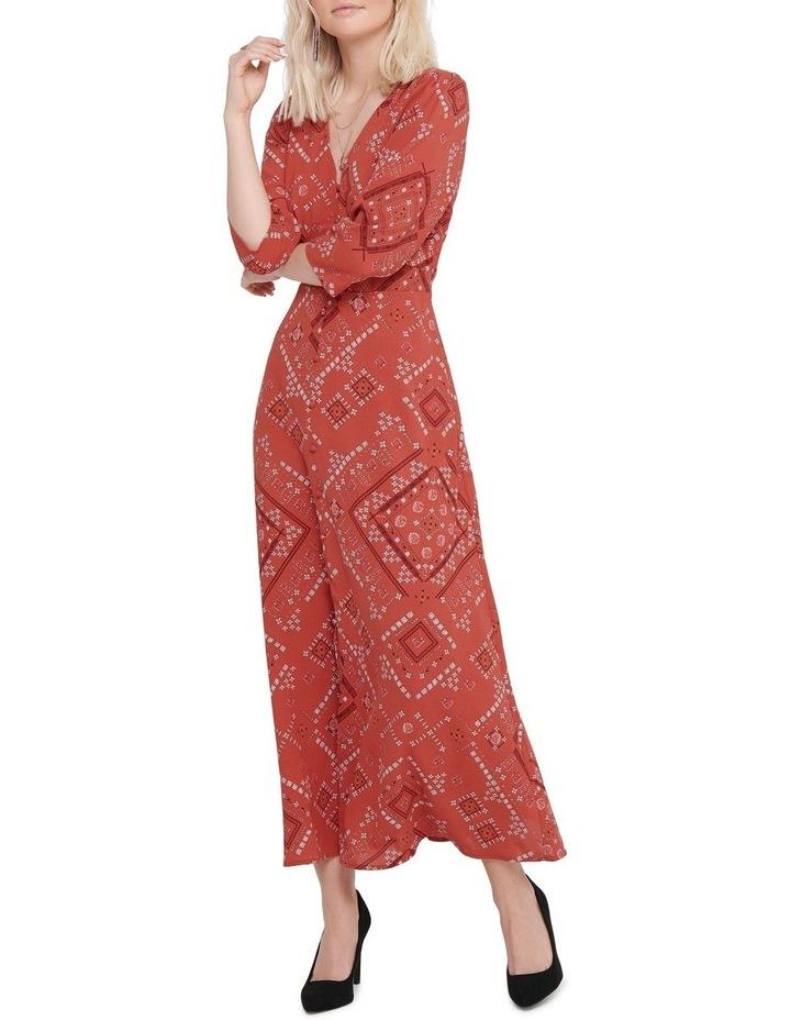 Mette 3/4 Midi Calf Dress image 3
