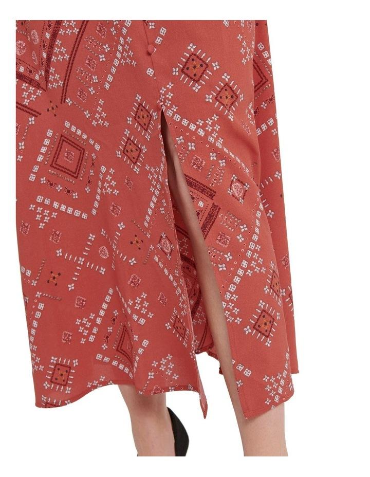 Mette 3/4 Midi Calf Dress image 5