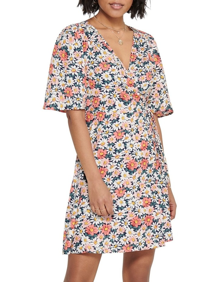 Hey Daisy Short Sleeve Wrap Dress image 1