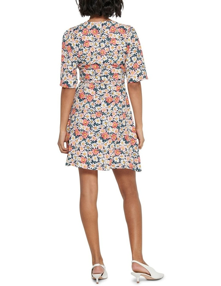 Hey Daisy Short Sleeve Wrap Dress image 2