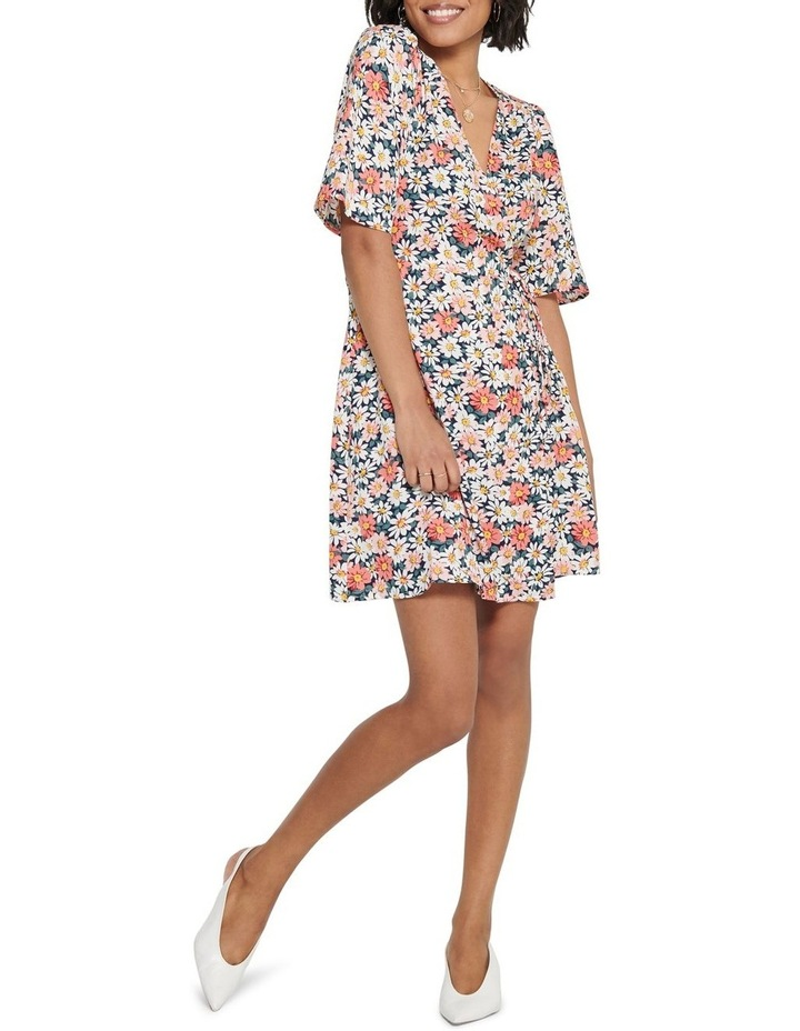 Hey Daisy Short Sleeve Wrap Dress image 3