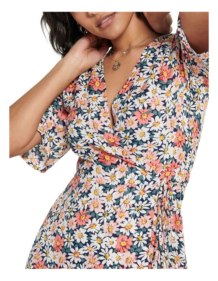Hey Daisy Short Sleeve Wrap Dress image 4