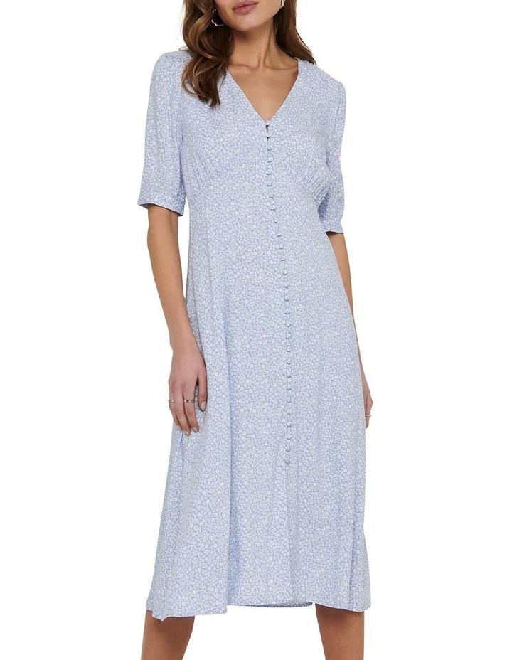 Daisy Midi Dress Blue Heron image 1