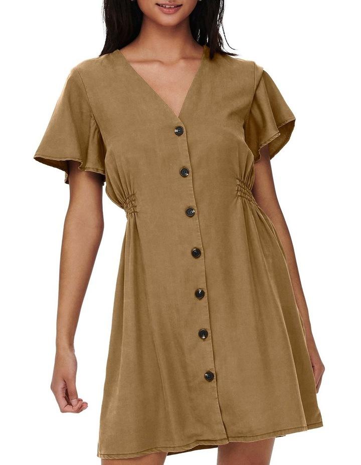 Magne Life Short Sleeve Button Dress image 1