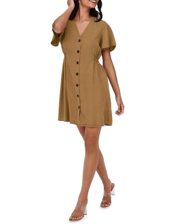 Magne Life Short Sleeve Button Dress image 3