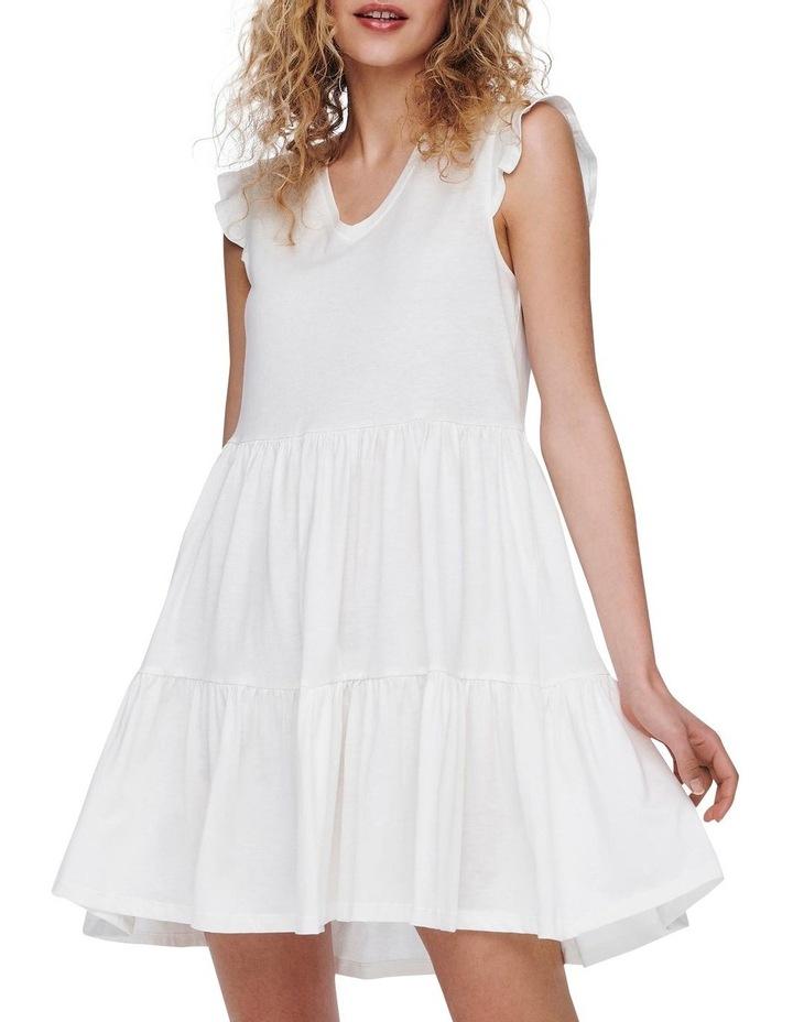 May Life Cap Sleeves Frill Dress image 1
