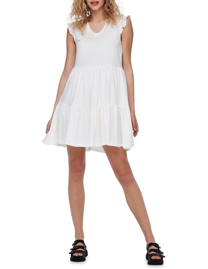 May Life Cap Sleeves Frill Dress image 3