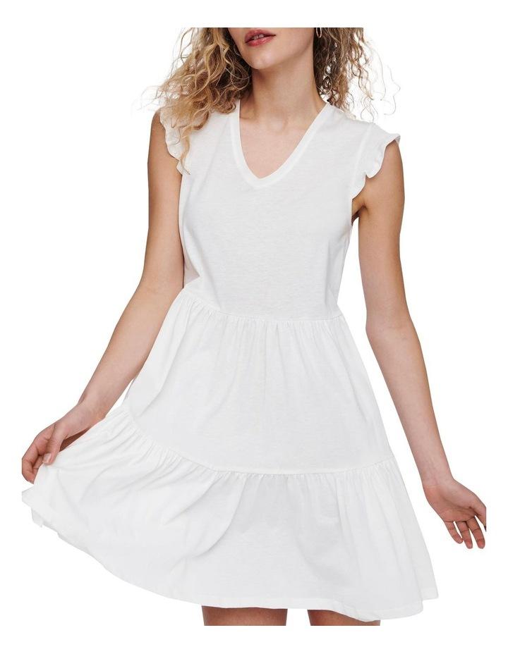 May Life Cap Sleeves Frill Dress image 4