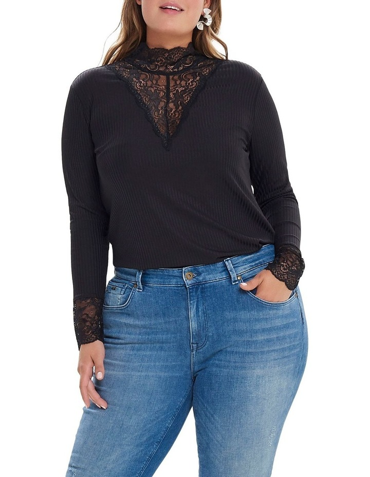 Lace Highneck Top image 1