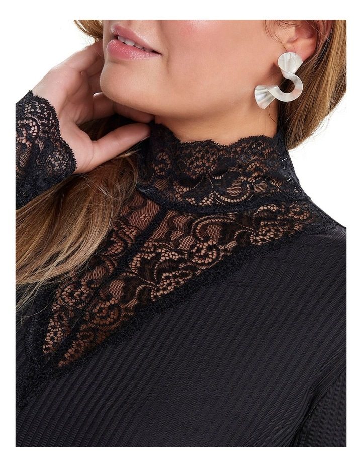 Lace Highneck Top image 4
