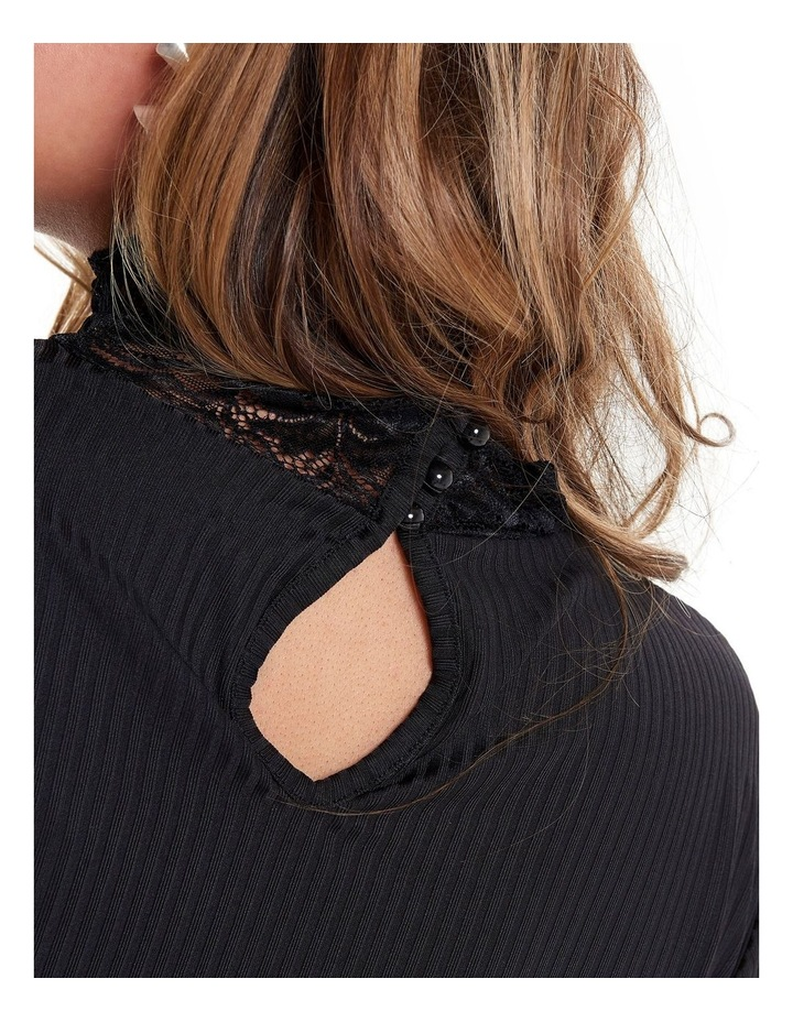 Lace Highneck Top image 5