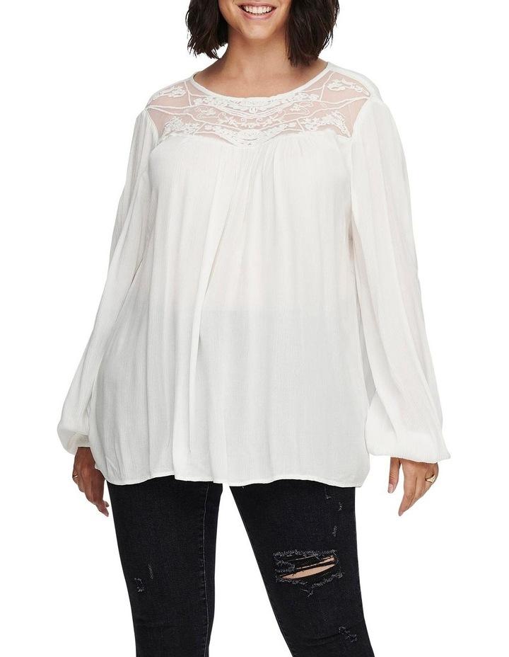 Vivian Long Sleeve Top White image 1