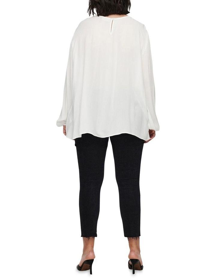 Vivian Long Sleeve Top White image 2