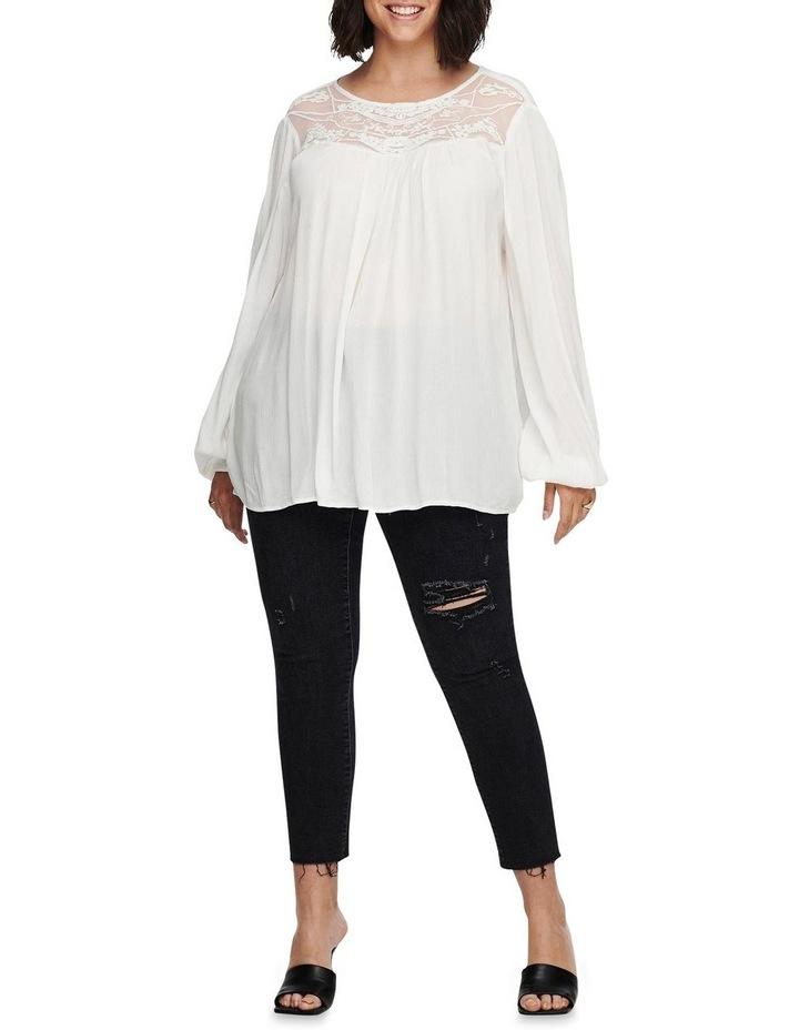 Vivian Long Sleeve Top White image 3