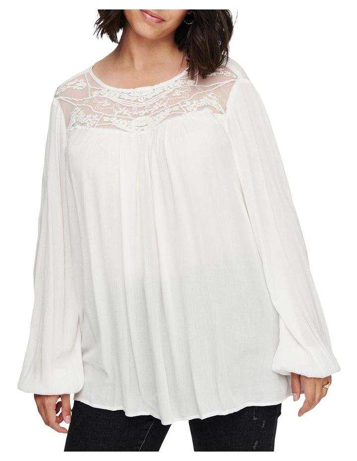 Vivian Long Sleeve Top White image 4