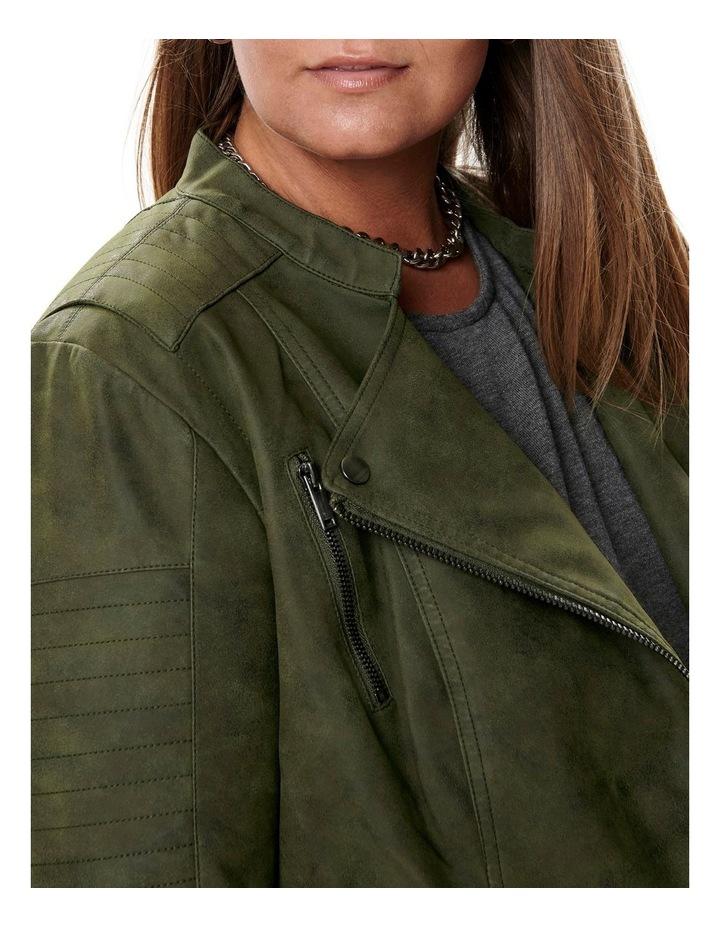 Avana Faux Leather Jacket image 4
