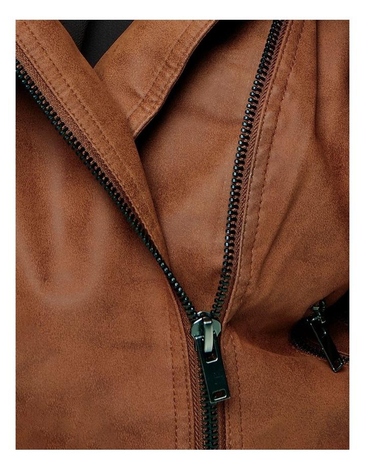 Avana Faux Leather Jacket image 3