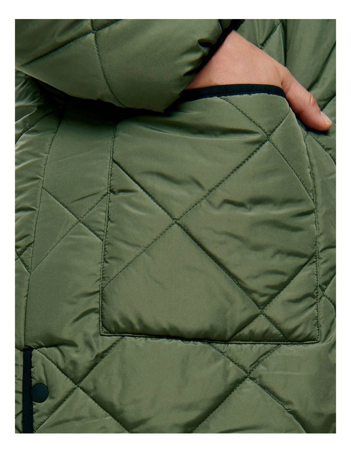 Carrot Quilted Jacket image 4