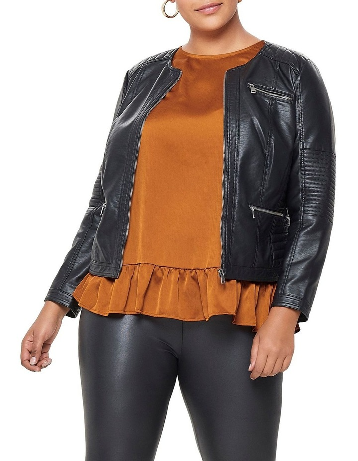 Faux Leather Jacket image 1