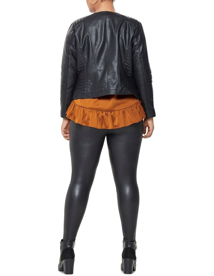 Faux Leather Jacket image 2