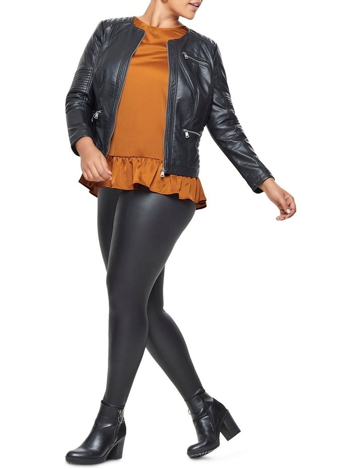 Faux Leather Jacket image 3