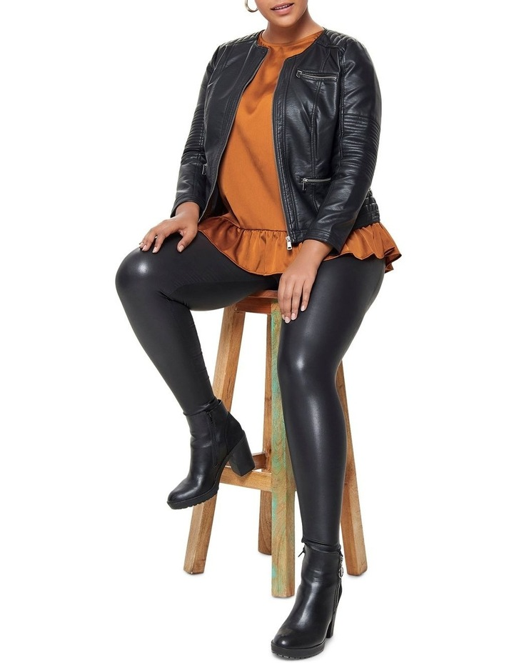 Faux Leather Jacket image 4