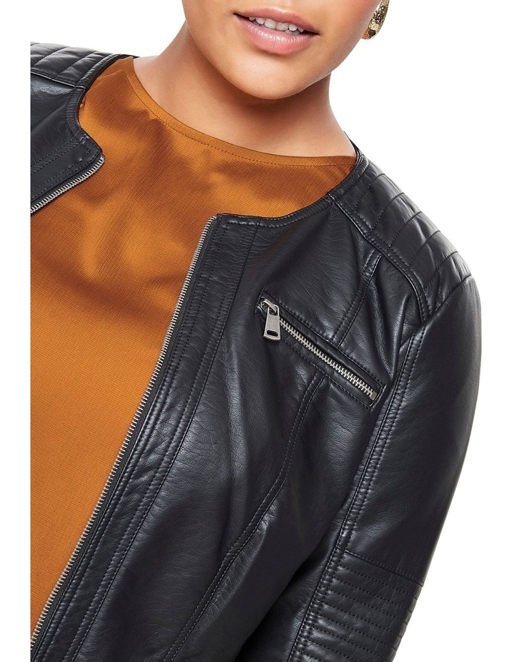 Faux Leather Jacket image 5