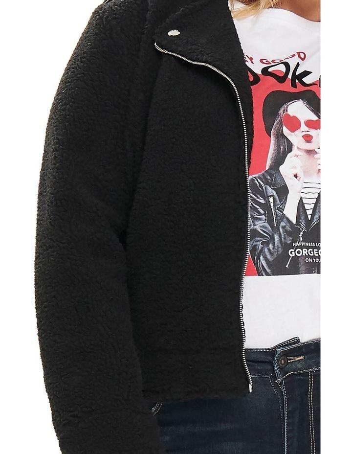 Denver Black Biker Jacket image 3