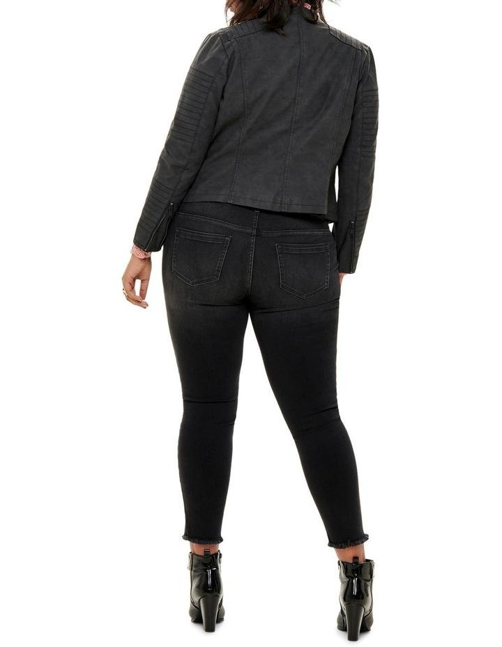 Avana Faux Leather Jacket image 1