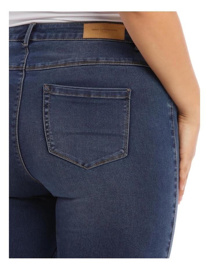 Augusta Dark Navy High Waisted Skinny Jean image 4