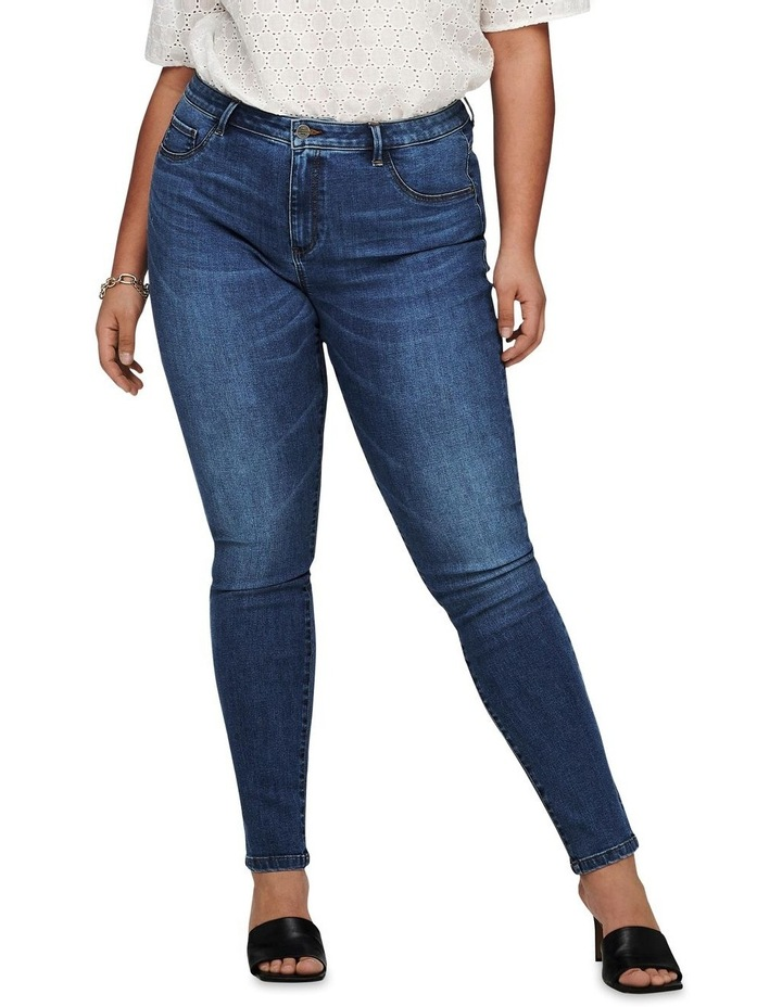 Floria Life Regular Medium Blue Denim Skinny Jean image 1