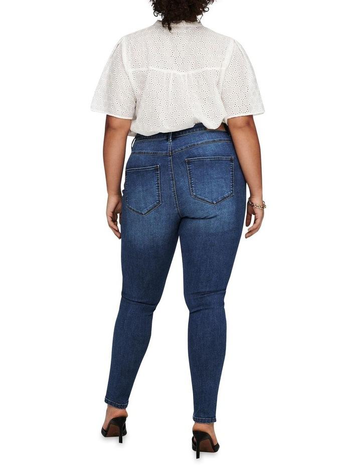 Floria Life Regular Medium Blue Denim Skinny Jean image 2