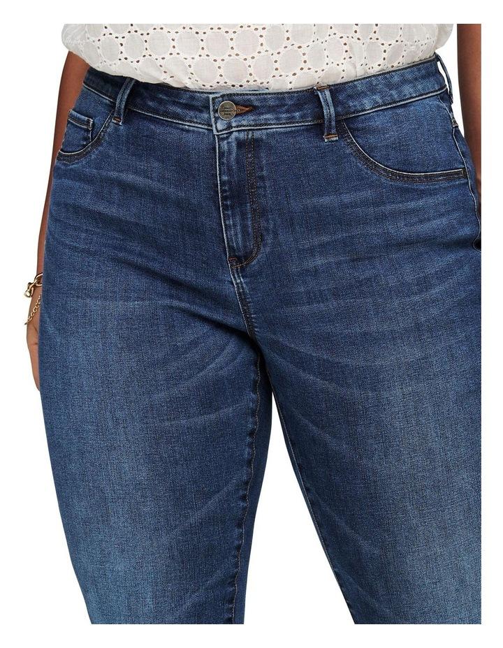 Floria Life Regular Medium Blue Denim Skinny Jean image 4