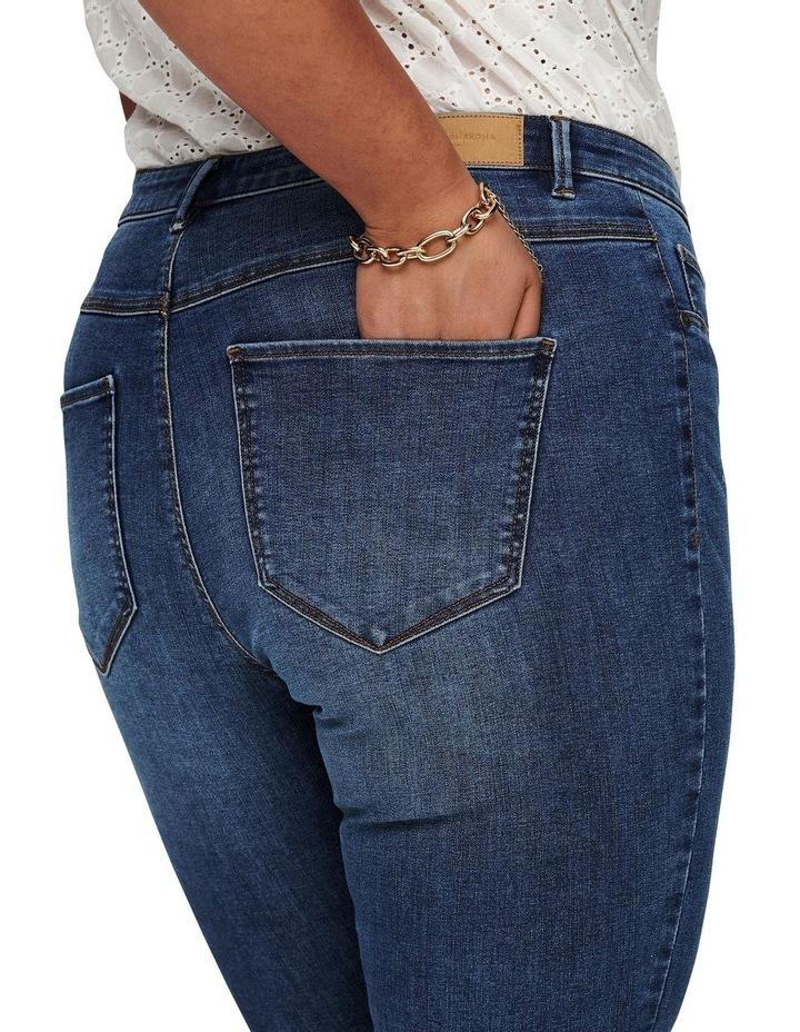 Floria Life Regular Medium Blue Denim Skinny Jean image 5