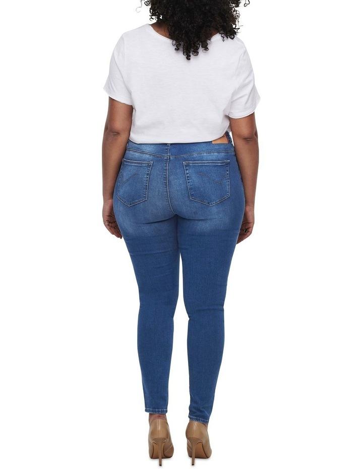 Laola Life High Waisted Skinny Denim Jeans image 2