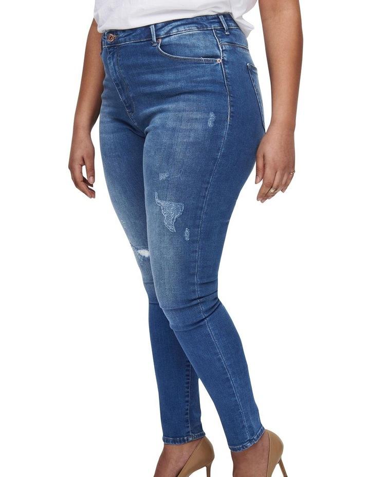 Laola Life High Waisted Skinny Denim Jeans image 4