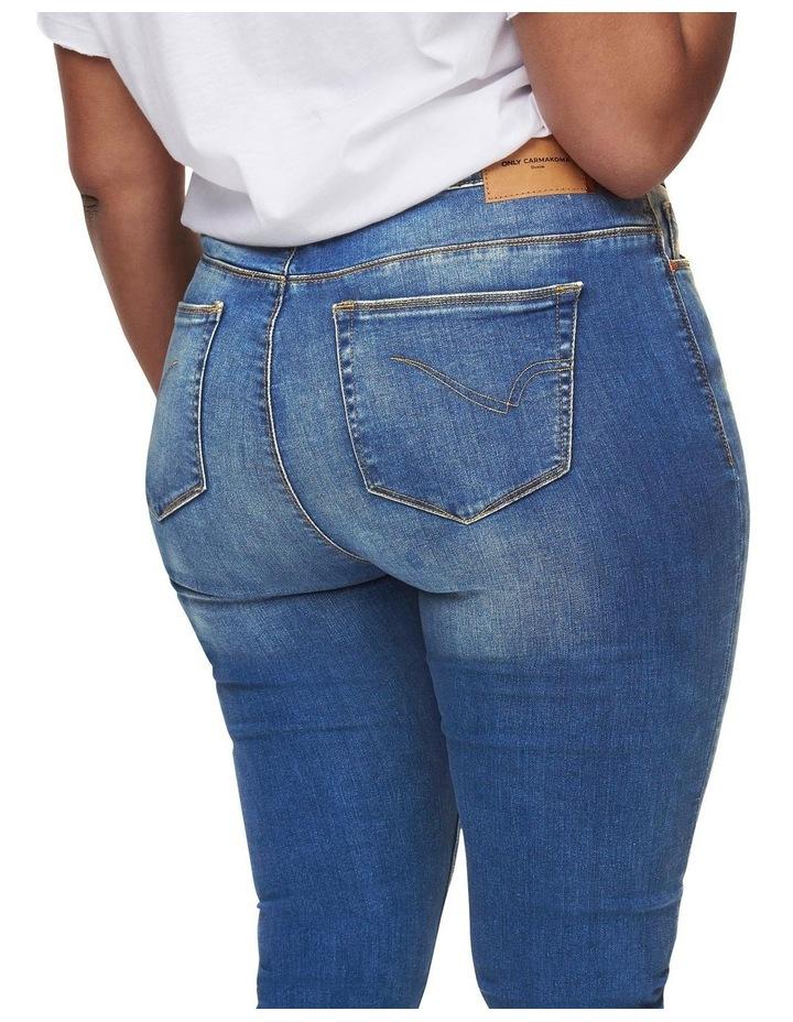 Laola Life High Waisted Skinny Denim Jeans image 5