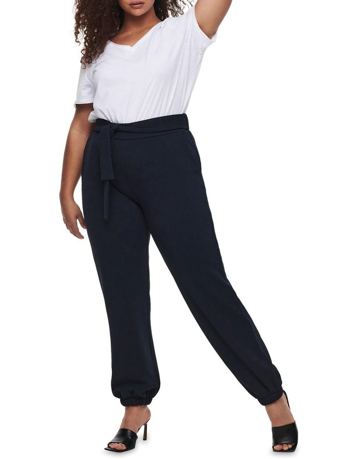 Betty Belted Navy Cuffed Pants image 3