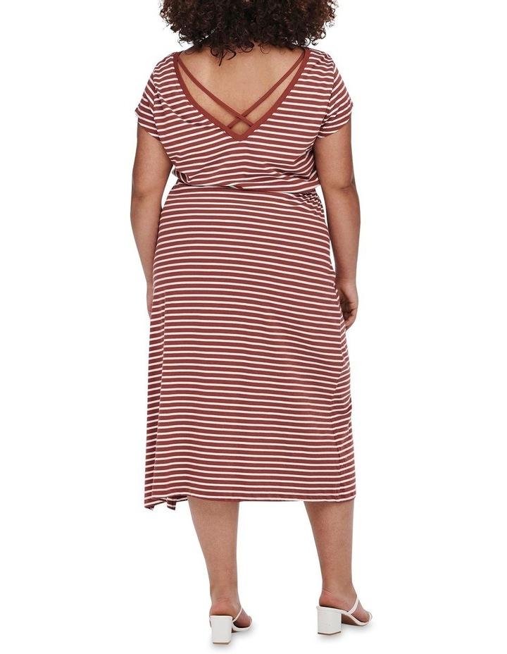 April Short Sleeve String Maxi Dress image 2
