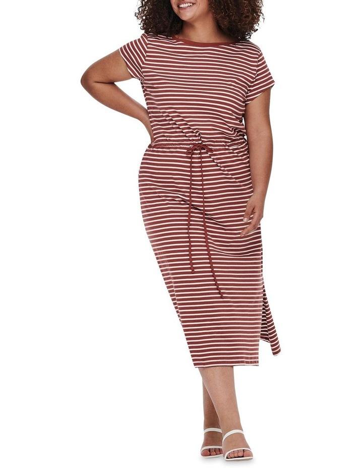 April Short Sleeve String Maxi Dress image 3