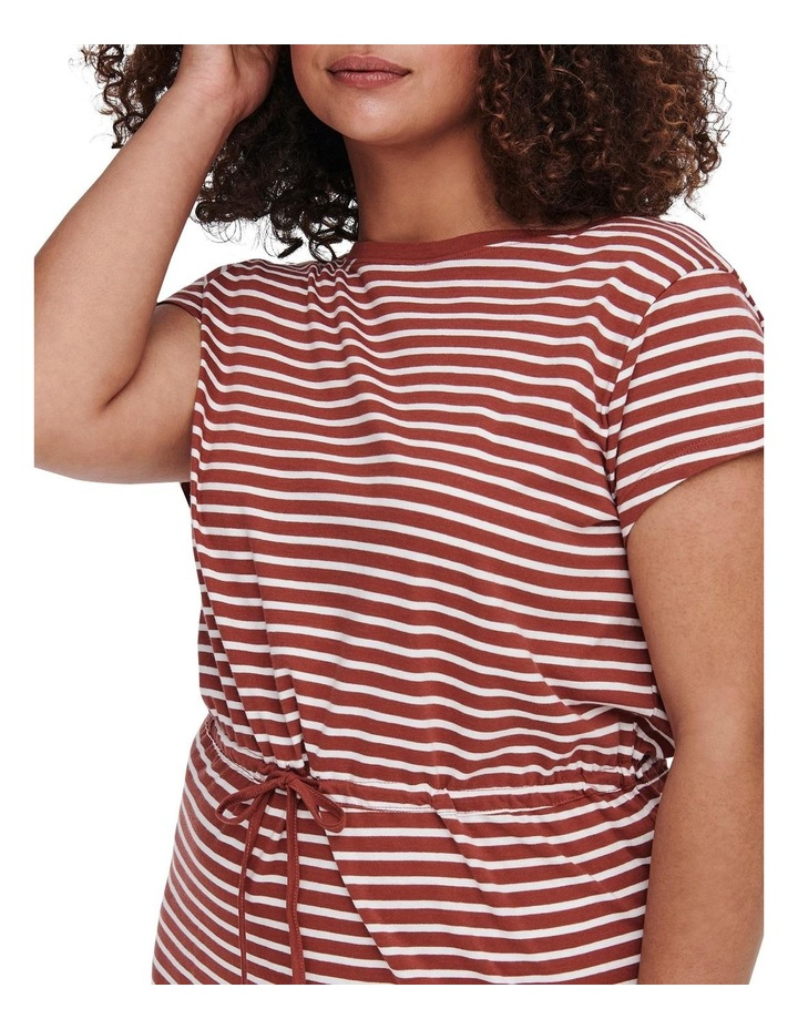 April Short Sleeve String Maxi Dress image 4