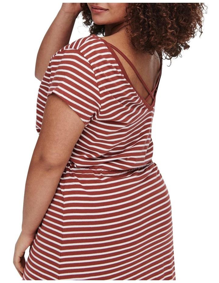 April Short Sleeve String Maxi Dress image 5