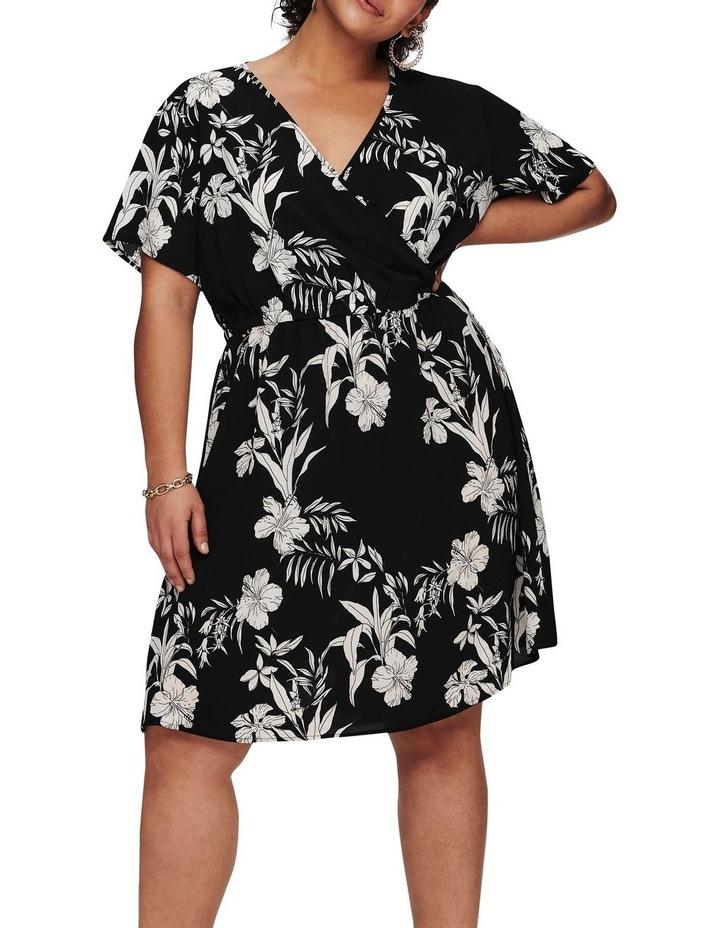 Luxina Short Sleeve Wrap Dress image 1